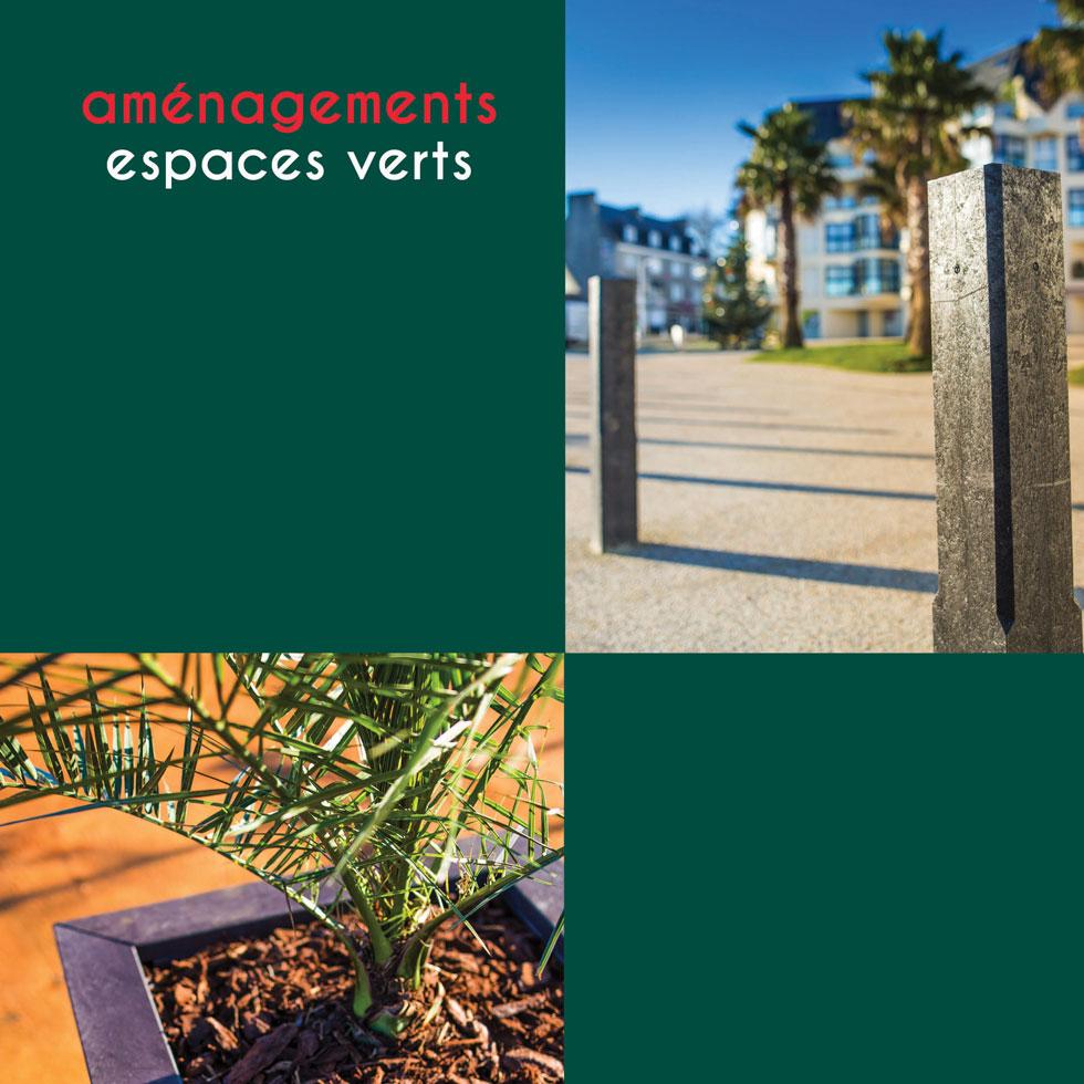 Espace Créatic - Espace Vert - Catalogue des produits en matériau recyclé 100% recyclables