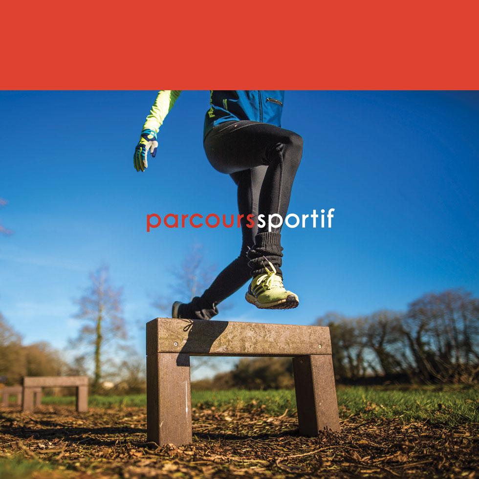 Espace Créatic - Parcours Sportifs - Catalogue des produits en matériau recyclé 100% recyclables