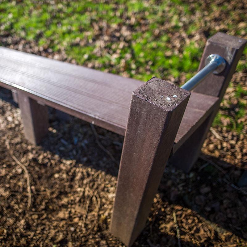 Espace Créatic - Parcours Sportifs - Abdo Planche en matériau recyclé 100% recyclable