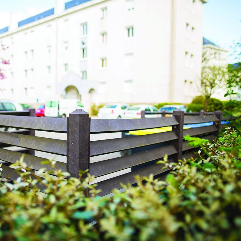Espace Créatic - Espace Vert - Cache Conteneur en matériau recyclé 100% recyclable