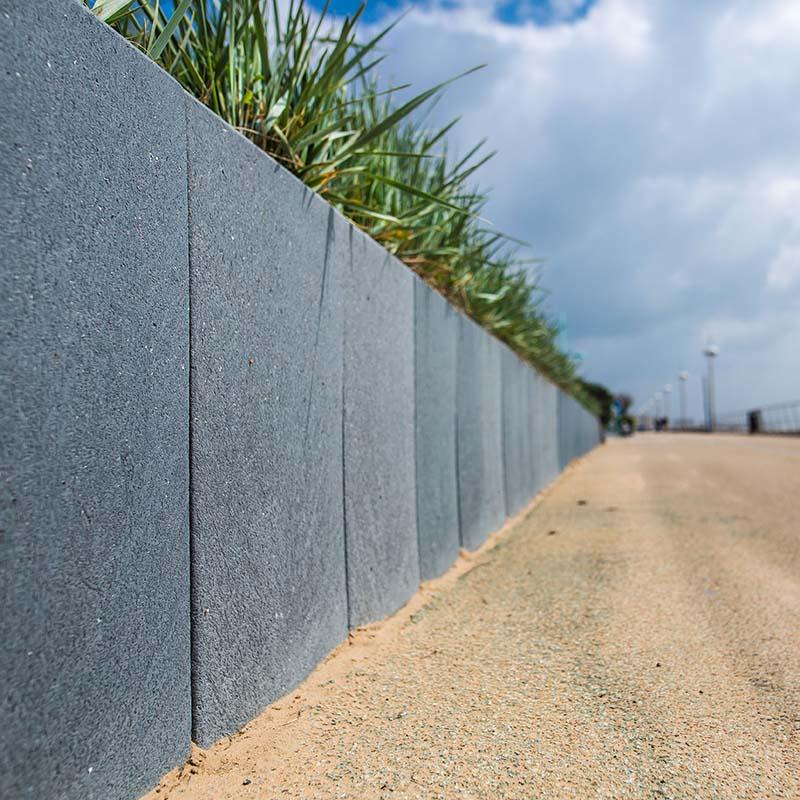 mur en l gamme panneaux mur retenue de terre espace cr atic. Black Bedroom Furniture Sets. Home Design Ideas