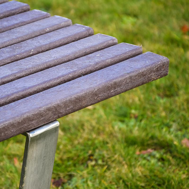 Espace Créatic - Mobilier Urbain - Table SÉVILLE en matériau recyclé 100% recyclable